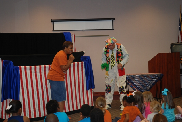 Summer Reading Puppet Show